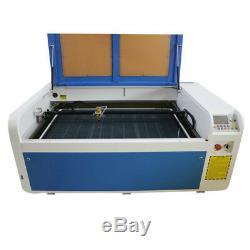 Dsp1060 100w Laser Co2 Usb Machine De Découpe Automatique Mise Au Point Des États-unis Graveuse Locale Pick-up