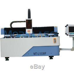 Fibre De Découpe Laser Métal Machine 1kw Ipg Mise Au Point Automatique Livraison Gratuite Modèle 2019