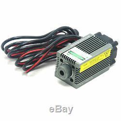 Focusable 520nm 1w 1000mw Dot Vert Laser Diode Module De Gravure Et Ttl De Coupe