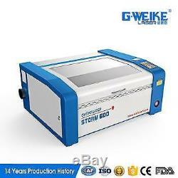 G. Weike 40w Tube De Verre Gravure Au Laser Co2 / Machine De Découpe 400600 Zone De Travail