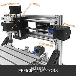 Graveur Laser Cnc Diy 2418cm 5500mw Woodworking Pvc Milling Cutting Pcb Routeur