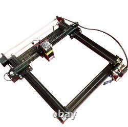 Gravure Métallique Cylindrical Cad Laser Gravure Machine Imprimante 7w A Axis