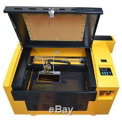 Haute Précision 50w Co2 Laser Cutter Gravure Machine De Découpe Graveuse 110v Nouveau