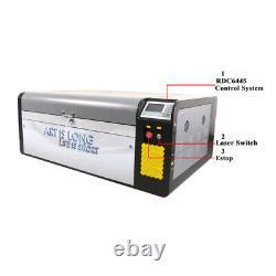 Hl 1060 Efr F2 80w-95w Machine De Gravure Au Laser Ruida Cutter Bois/acrylique