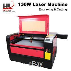 Hl 1060x Reci 130w Co2 Gravure Au Laser Machine De Découpe Cutter Ruida 6445 Système