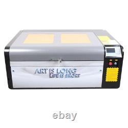 Hl Efr 80w Co2 Graveur Laser Cutter 39×24 Machine À Découper 2020 Nouveau