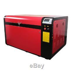 Hl Laser Dsp1060 100w Co2 Machine De Gravure Laser De Découpe 37x23 Cw5000 Chiller