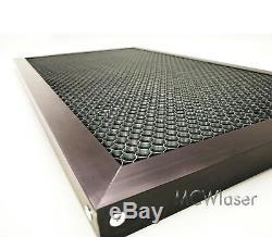 Honeycomb Table Pour Co2 Laser Engraver 50x30cm Coupe Machine Fer Galvanisé
