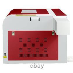 Hq 60w Co2 Laser Gravure Machine Laser Graveur Wood Cutting MILL Usb 220v