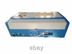 Hq3020 K40 40w Cnc Co2 Laser Gravure Machine Coupe Graveur Portable