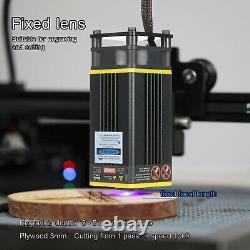 Kit De Tête De Module Laser Cnc De 40w Pour Le Coupeur D'imprimante De Machine De Coupe De Gravure Laser