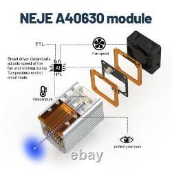 Kit De Tête De Module Laser Cnc Haute Puissance 40w Machine De Découpe De Gravure Cutter Rapide