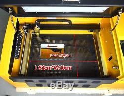Laser 50w Usb Co2 Gravure Machine De Découpe Graveuse 3050 Couches Sculpture Nouvelle