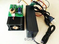 Laser À Tête D'impulsion De 450nm 12w Pour Machine De Découpe À Gravure Laser Bricolage