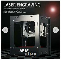 Laser Automatique 3d Diy Machine De Découpage Graveuse D'imprimante (neje Dk-8-kz 1000mw)