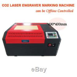 Laser Co2 Usb Hors Ligne Graveuse Contrôle Co2 Machine De Gravure De Coupe 400400mm