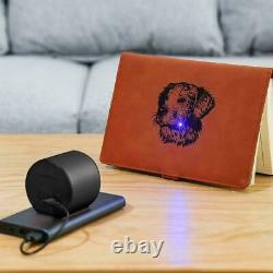 Laser Gravure Machine De Découpe Graveur Cutter Bricolage Noir Avec Trépied Réglable