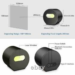 Laser Pecker Gravure Laser Graveur De Machine Bricolage Logo Imprimante Avec Trépied