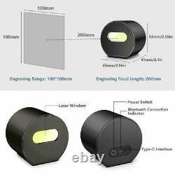Laserpecker Laser Gravure Machine À Découper Graveur Imprimante Bureau Diy+ Trépied