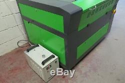 Lasertech LD 6090 80w Co2 Gravure Graveuse Coupe Plat Lit Laser Machine