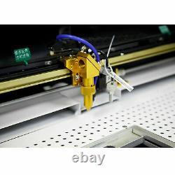 Machine À Découper Au Laser Et À Graver À Chaud 80w Ruida Co2 Avec Table Motorisée 16''x24'