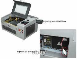 Machine De Découpe De Gravure Laser Usb Ten-high 300x400mm 50w 50w Laser Graveur Gr