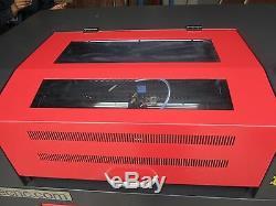 Machine De Découpe Laser Cnc Gravure Nouveau 600 X 400 Co2 +