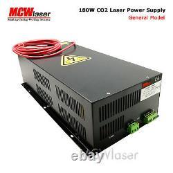 Mcwlaser 180w 200w Alimentation Laser Co2 Pour 180w 200w Coupe De Gravure De Tube