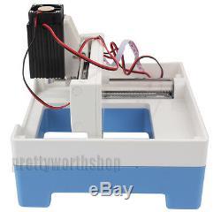 Mini 2000mw Machine De Gravure Laser Diy Logo Usb De Coupe Photo Printer Marquage