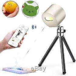 Mini Bluetooth Gravure Au Laser Machine De Découpe Graveuse Bricolage Logo Imprimante De Bureau