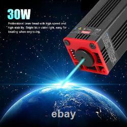 Mise À Niveau 30w Cnc Laser Module Head Blue Lase For Laser Cutting Machine Graveur