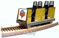 Modèle Détaillé De Cedar Point Mean Streak Roller Coaster Laser Gravé & Coupé
