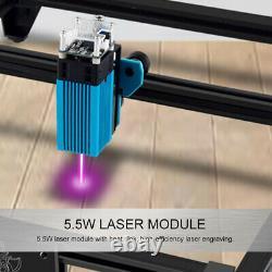 Module Bleu De Tête De Laser De 40w Pour Graver Le Coupeur De Machine De Coupe Laser De Cnc
