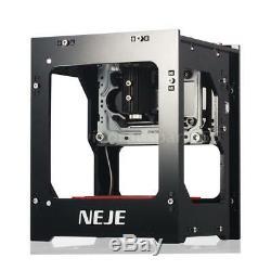 Neje 1000mw Usb Laser Printer Carver Graveuse Bricolage Gravure Machine De Découpage États-unis