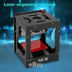 Neje 1000mw Usb Laser Printer Carver Graveuse Bricolage Machine De Gravure De Coupe