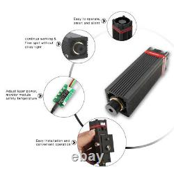 Neje 20w 450nm Kit De Tête De Module Laser Pour La Machine De Coupe Laser Cnc Nouveau