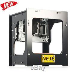 Neje Dk-8-fkz 1500mw Haute Vitesse Usb Laser Engraver Bricolage Découpage Machine De Gravure