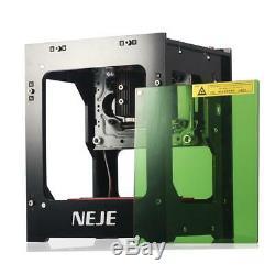 Neje Dk-8-kz 1000mw Usb 3d Laser Cutter Graveuse Sculpture Machine De Découpage Imprimante