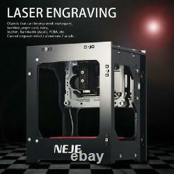 Neje Dk-8-kz Usb 3d Laser Printer Graveuse Automatique Machine De Gravure De Coupe