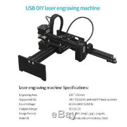 Neje High Speed usb Laser De Bricolage Graveuse De Coupe Machine De Gravure En Aluminium