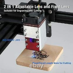 Neje Master-2s Plus 30 W Graveur Laser Cutting Machine Gravure Professionnelle