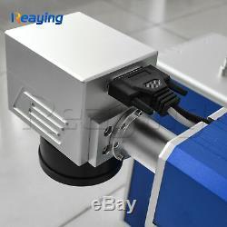 Nouveau! 30w Machine De Marquage Laser Fibre Coupée Métal Usb, Aluminium Marque Pc Coupure Profonde