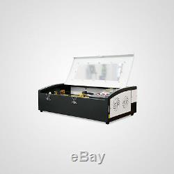 Nouveau! 40w Co2 Laser Gravure & Coupe 300200mm Machine Avec Ce, Fda