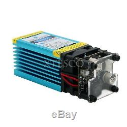 Nouveau 450nm Blue Laser Module 15000mw De Découpe Laser Module À Gravez Inoxydable Sz