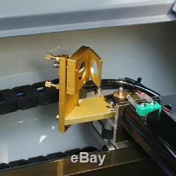Nouveau! 50w Co2 Laser Gravure & Coupe 300500mm Machine Avec La Plate-forme Motorisée