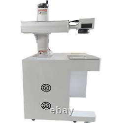 Nouveau! 50w Machine De Marquage Laser Fibre Coupée Métal Usb, Aluminium Marque Pc Coupure Profonde