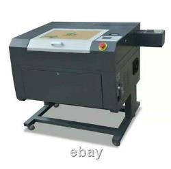 Nouveau! 50w Usb Co2 Laser Gravure Cutting Machine+free Extra Lenses 500x300mm