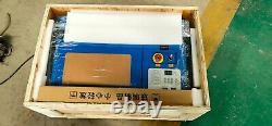 Nouveau Coupeur De Graveur De Machine À Découper Laser 40w Co2 Avec Tête D'air Blow 3020
