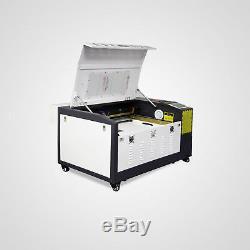 Nouveau! Laserdraw 50w Gravure Au Laser Et Machine De Coupe Avec Motorisé Tableau 16''x24