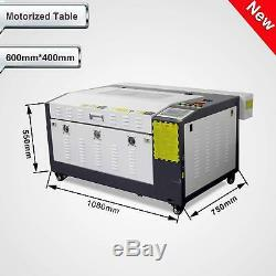 Nouveau! Laserdraw 60w Gravure Au Laser Et La Machine De Découpage Avec Motorisé Table 16''x24
